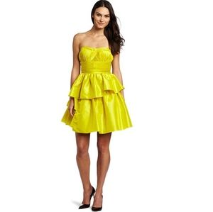 Jessica Simpson NWT Citronelle Strapless Dress